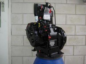 Revisie van een Hatz motorblok in de kleur zwart